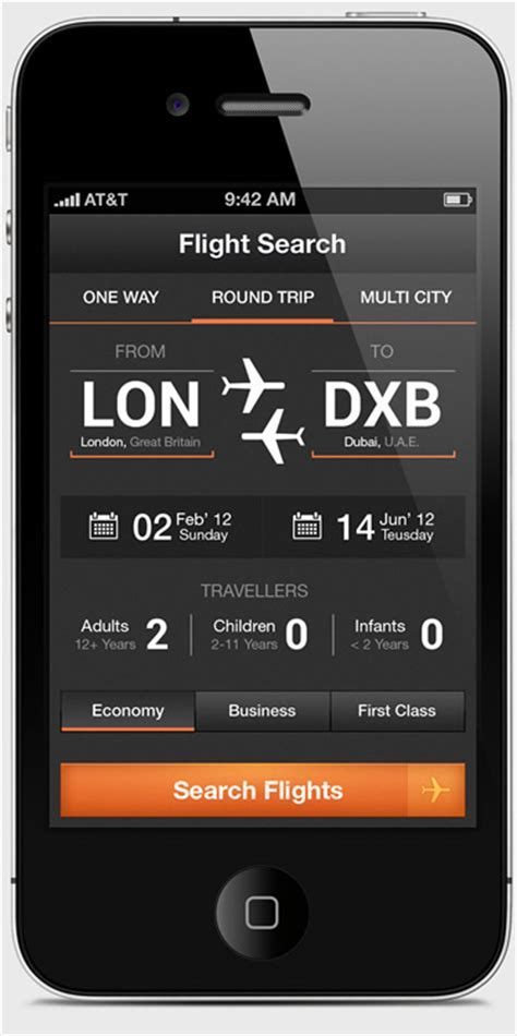 design app interface ui design airwala app