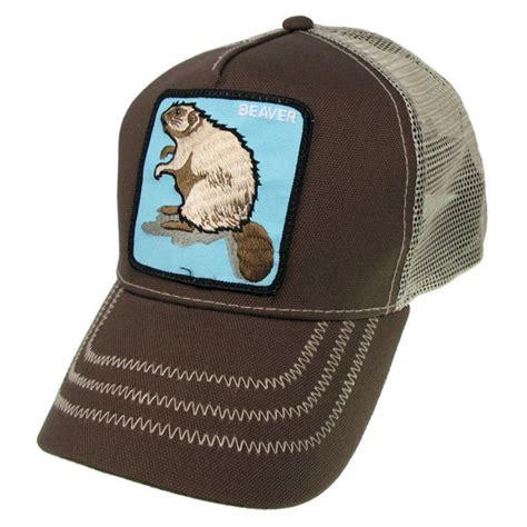 goorin bros goorin bros beaver trucker snapback baseball cap