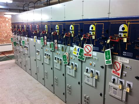 high voltage safety access substation access