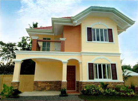 Spanish Style Home Designs by The Residences Of Coral Bay Minglanilla Cebu