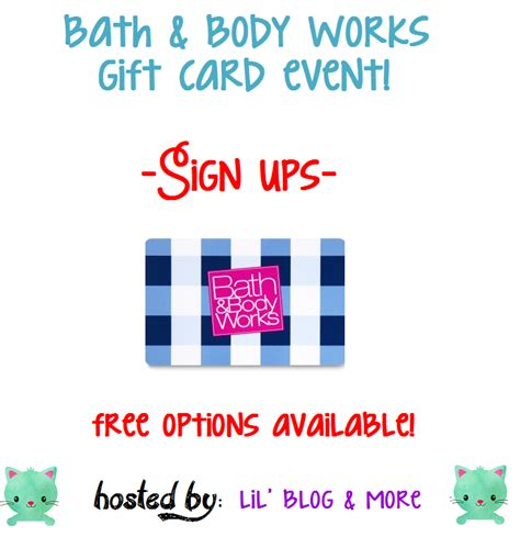 Check Bath And Body Works Gift Card - missys product reviews bath body works blogger opp