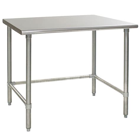 Stainless Steel Lab Tables by Flattop Stainless Steel Work Table With Galvanized Steel