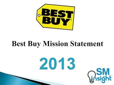 Best Buy Ceo Mba by Best Buy Mission Statement