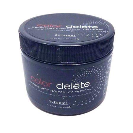 scruples color scruples color delete permanent haircolor remover 4oz