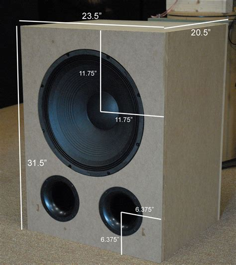 vbss diy subwoofer design thread avs forum home theater discussions  reviews
