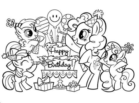 my little pony bon bon coloring pages coloriage joyeux anniversaire bandgee com