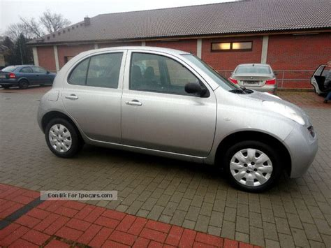 Nissan Micra Automatic 5 Door by 2004 Nissan Micra 1 2 Automatic 5 Doors Car Photo And Specs