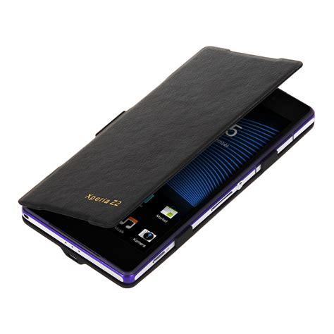 Battery Sony Z2 3500 Mah Black Diskon kwmobile external battery flip for sony xperia z2