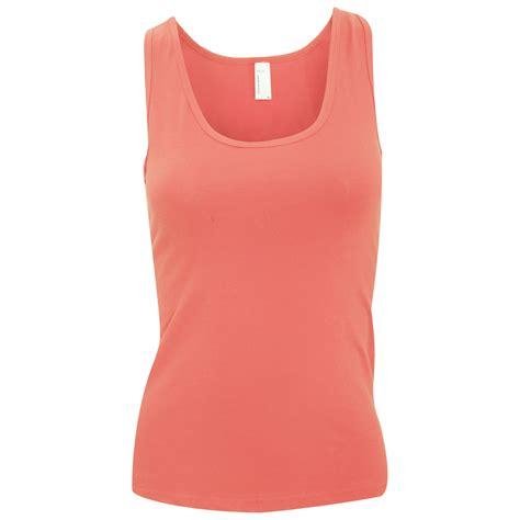 Tank Top Wanita Fashion Spandek Merah american apparel sleeveless cotton spandex vest tank top