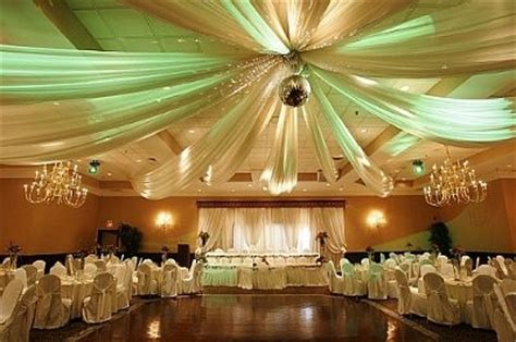 how to drape walls with fabric drapes for the walls at the reception weddings do it