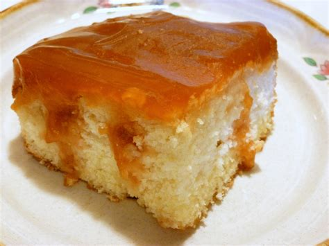Puding Cake gingerbread pudding poke cake at home in alaska