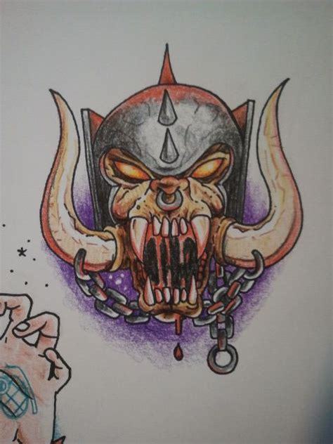 personal tattoo design design quot motorhead quot personal illustrations