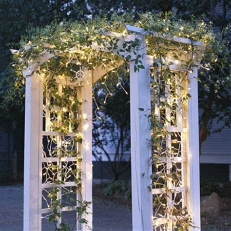 Garden Arch With Lights 95 Amazing Outdoor Decorations Digsdigs