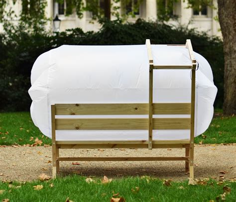 solar bench parkbench bubble is a shelter solar powered charging station