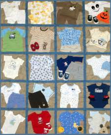 Quilts Made With Baby Clothes » Home Decoration