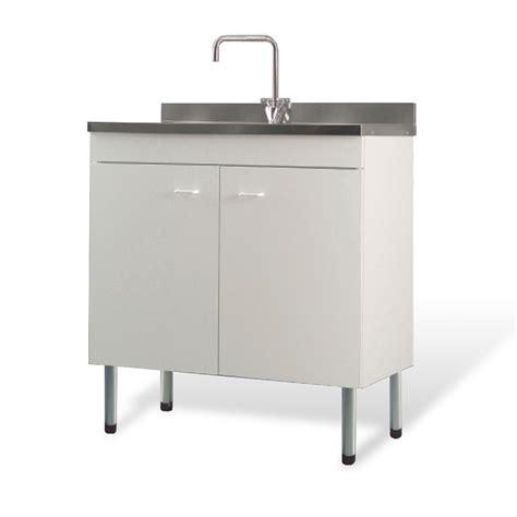 mobile lavello cucina acciaio mobile con lavello bianco per cucina 80x50 scolapiatti