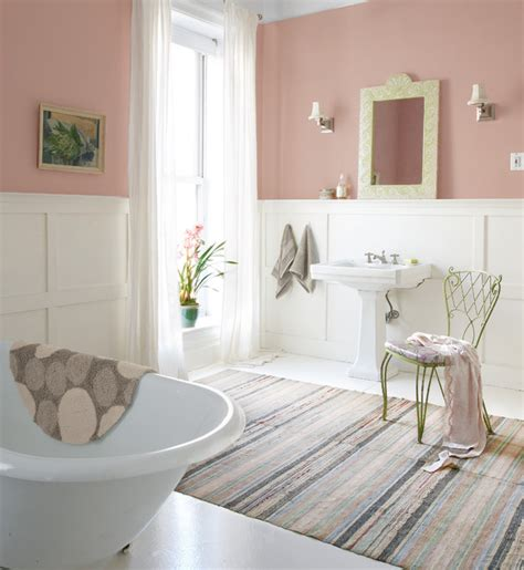 diaphanous shabby chic bathroom other metro by sherwin williams