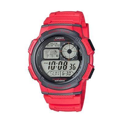 Casio Ae1000 Black harga jam tangan casio illuminator ae 1000 original