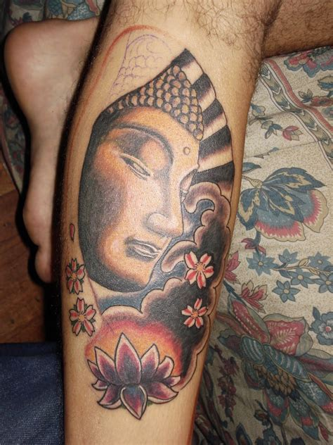face design tattoos buddhist tattoos