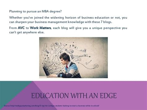 Knowledge Management Notes For Mba Students by Boost Your Career 7 Blogs For Mba Students