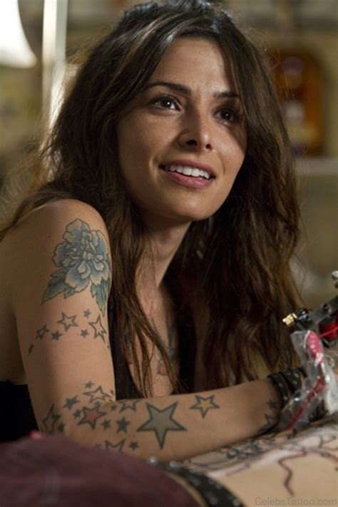 sarah shahi tattoos shahi arm