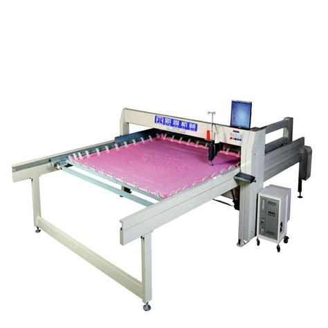 Computerized Quilting Machines china single needle computerized quilting machine dh 26b