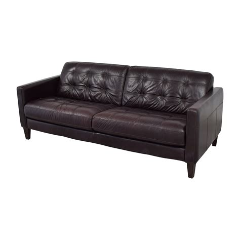 used leather sofa prices 59 off macy s macy s milan leather sofa sofas