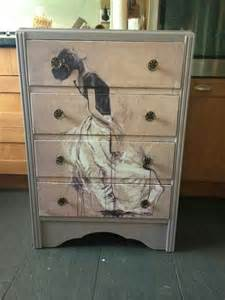 How To Decoupage A Dresser - best 25 decoupage dresser ideas on decoupage