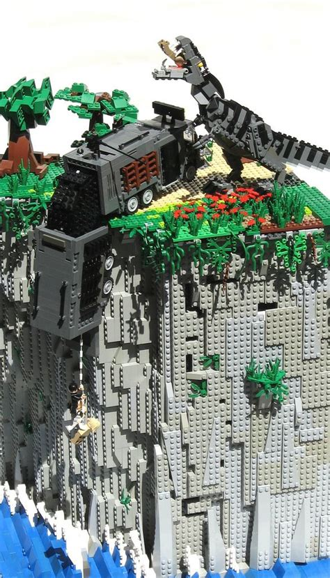 tutorial lego jurassic park the lost world jurassic park 2 in lego holy freakin