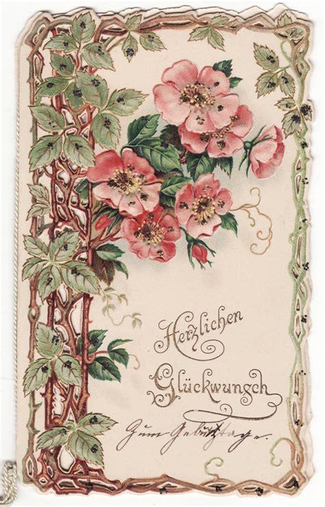 cards antique vintage cards delicate floral sweet children