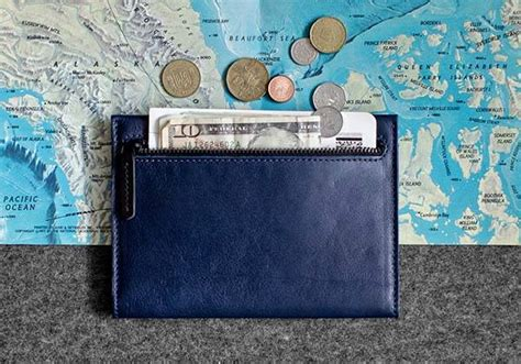Handcrafted Leather Wallet - rart handmade leather passport travel wallet gadgetsin