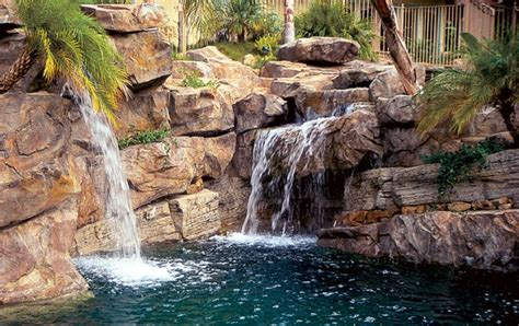 Different Style Homes by Water In Motion Top Water Features For Pools Luxury Pools