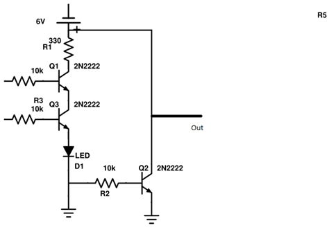 transistor sebagai logic gate voltage designing transistor logic gates electrical engineering stack exchange