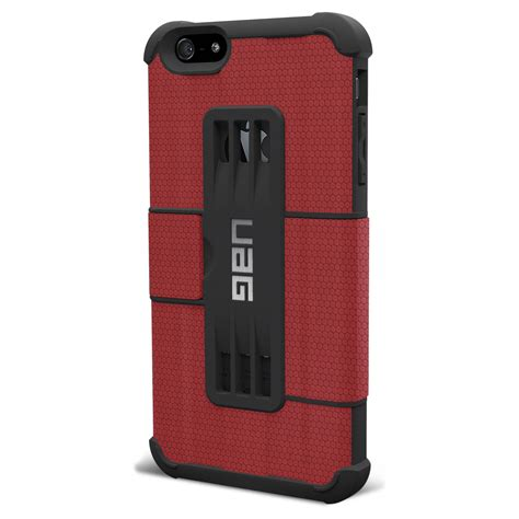 Uag Iphone 6 6g 6s Armor Gear Cover Bumper Hardcase Black armor gear folio for iphone 6 uag iph6plsf b h