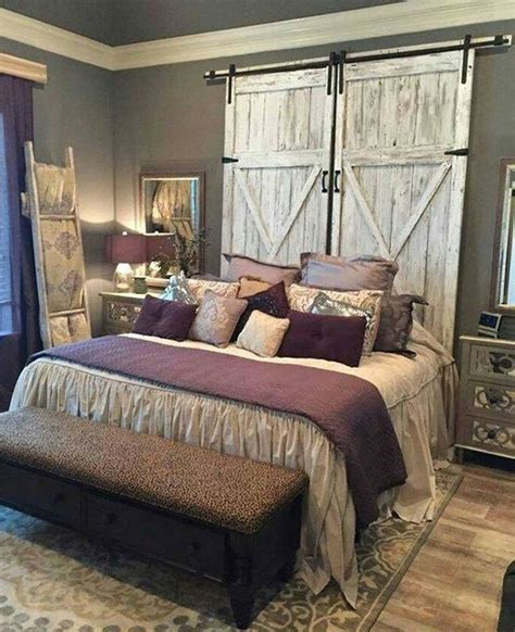 country style headboard ideas 25 best ideas about rustic chic bedrooms on pinterest