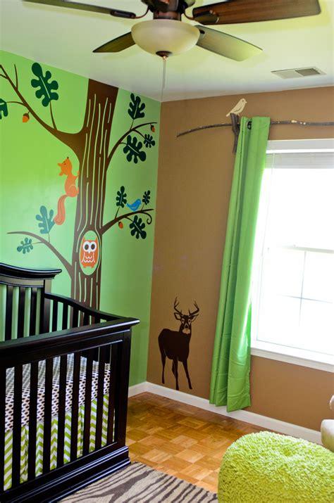 room theme baby woods woodland themed nursery project nursery