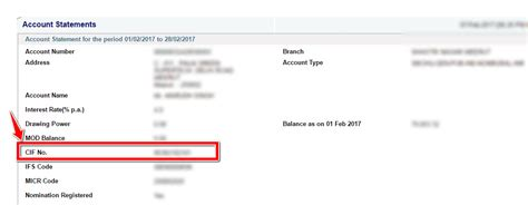 How To Find On Book How To Find Cif Number In Sbi By Passbook Cheque Book