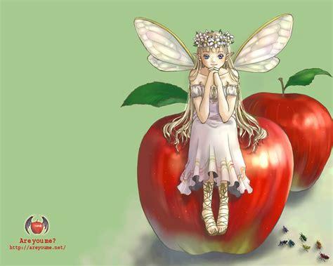 wallpaper apple girl red apple girl wallpaper wallpapers hd wallpapers 5037