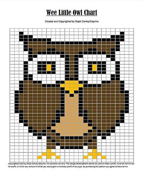 owl knitting chart pin by barbara york on knitting ideas