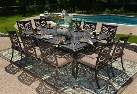 Metal Patio Dining Sets How To Clean Aluminum How To Clean Aluminum Outdoor Furniture