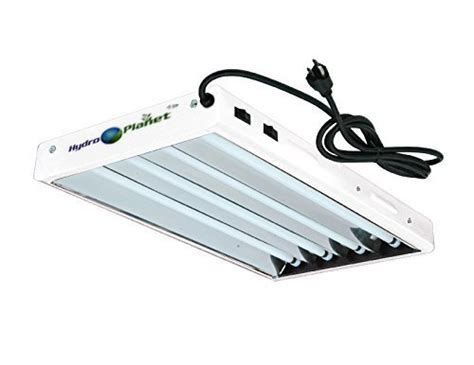 4ft T5 Grow Lights by Hydroplanet T5 4ft 8l Fluorescent Ho Bulbs Included For