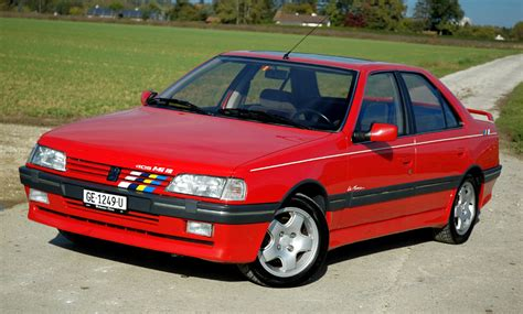 peugeot 405 mi16 the peugeot 405 mi16 16 valves 160hp and a 220kph top
