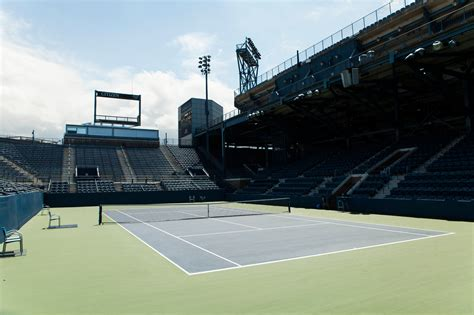 Are Courts Open On - quot grandstand to be used at u s open for one more year