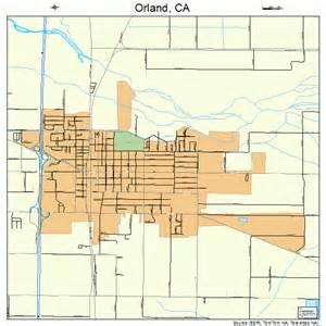 orland california map 0654274