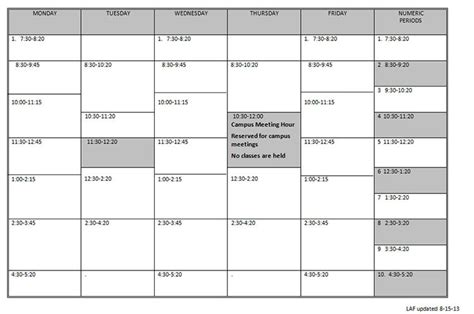 daily schedule template for college students driverlayer