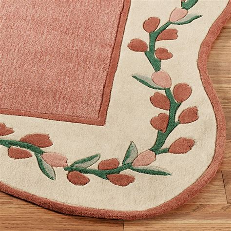coral rug runner melody garden wool area rugs