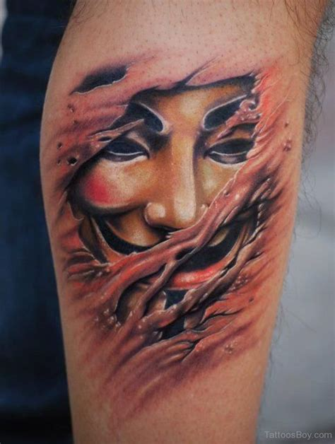 mask tattoo designs mask tattoos designs pictures page 13