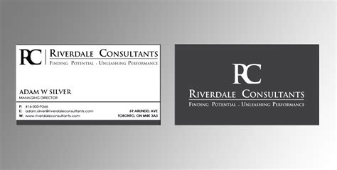 Consultant Business Cards