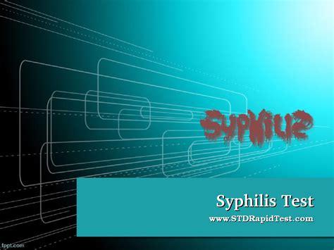 issuu syphilis test by std rapidtest