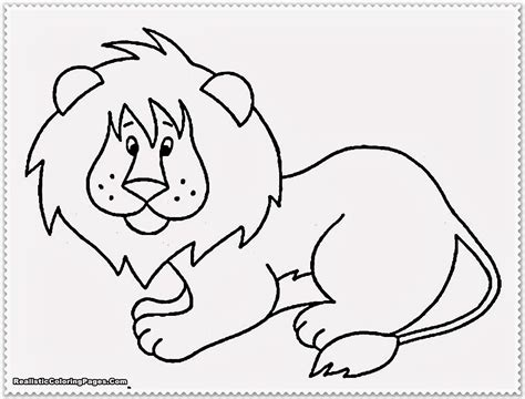 printable animal realistic jungle animal coloring pages realistic